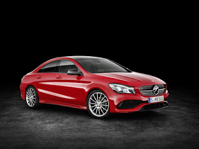 Mercedes CLA Facelift right side pictures