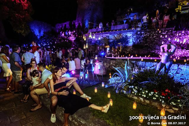 Otvaranje 12. Ljeto na Gradini: 3000 svijeća na Gradini