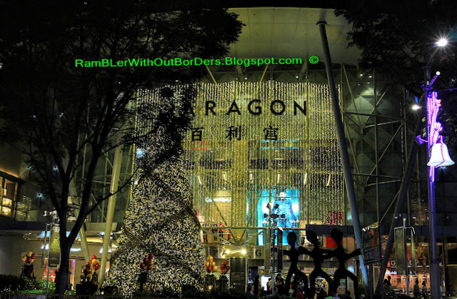 Christmas displays and decorations, Paragon, Orchard Road, Singapore