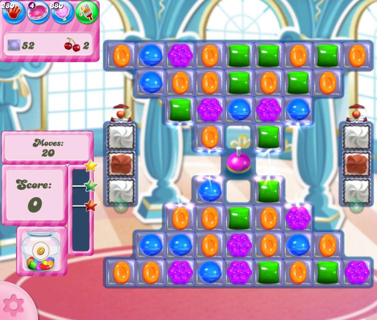 Candy Crush Saga level 2707