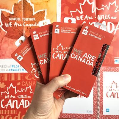 WE Are Canada - UNIS au Canada - Rafiki Bracelets