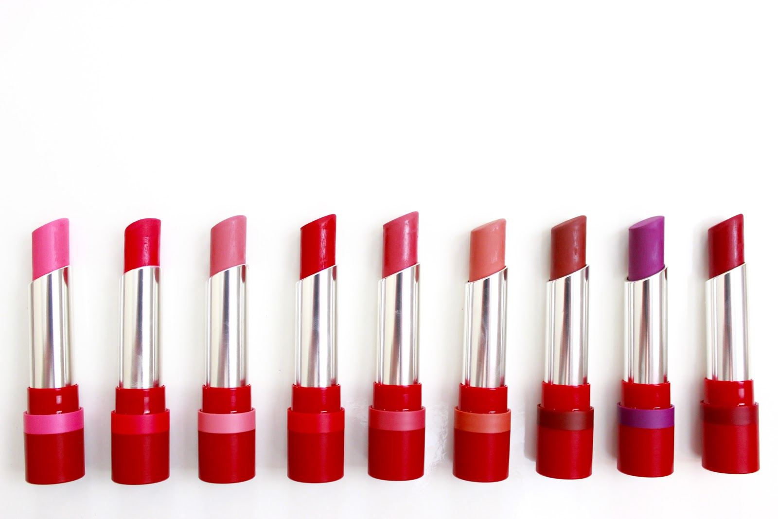 Rimmel The Only One Matte Lipstick Review and Swatches