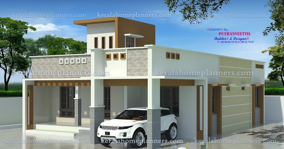 low budget 2bedroom kerala home design for 19lakhs - Get Small House Design Under 10 Lakhs PNG