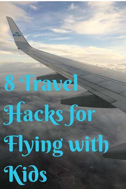 8 Travel Hacks for Flying with Kids