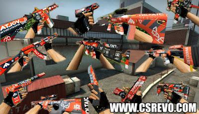 Pack de Skins CS:GO Bloodsport para CS 1.6, skins csgo
