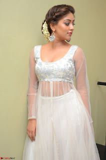 Anu Emmanuel in a Transparent White Choli Cream Ghagra Stunning Pics 063.JPG
