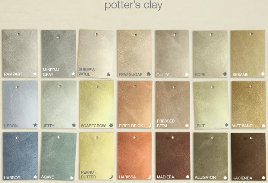 Martha Stewart Metallic Paint Color Chart Revolutionhr