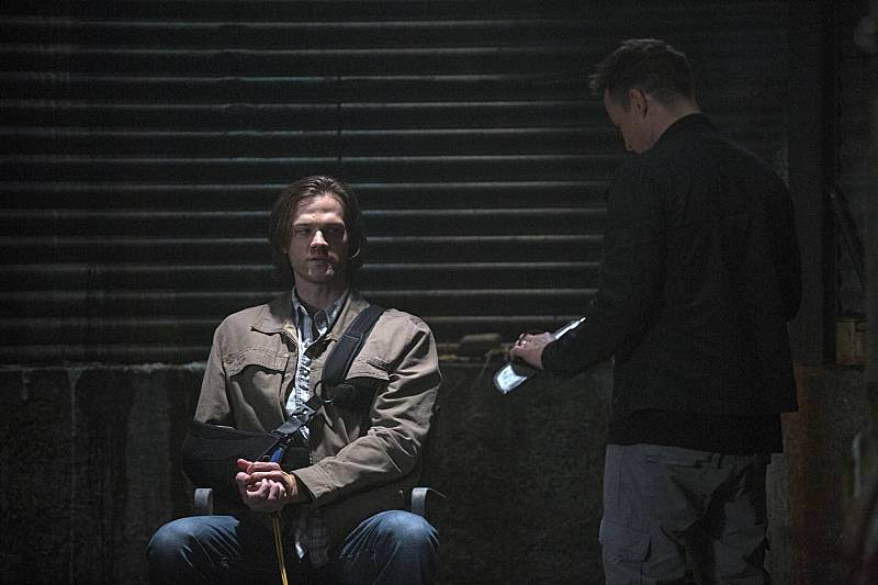 Recap/review of Supernatural 10x01 'Black' by freshfromthe.com