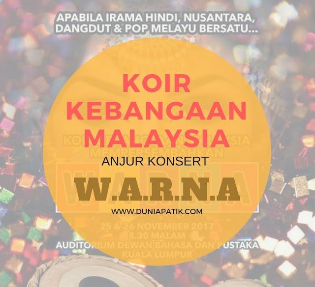 KOIR KEBANGSAAN MALAYSIA PERSEMBAHKAN KONSERT WARNA