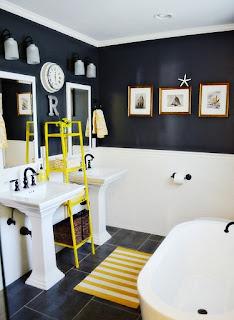 baño clásico pequeño