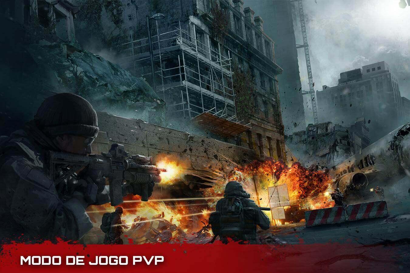 DEAD WARFARE Zombie APK MOD Munição Infinita 2021 v 2.21.7