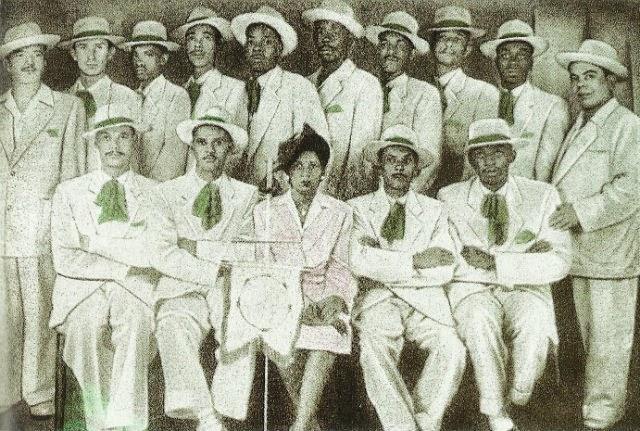 Ala dos Compositores da Mangueira em 1939