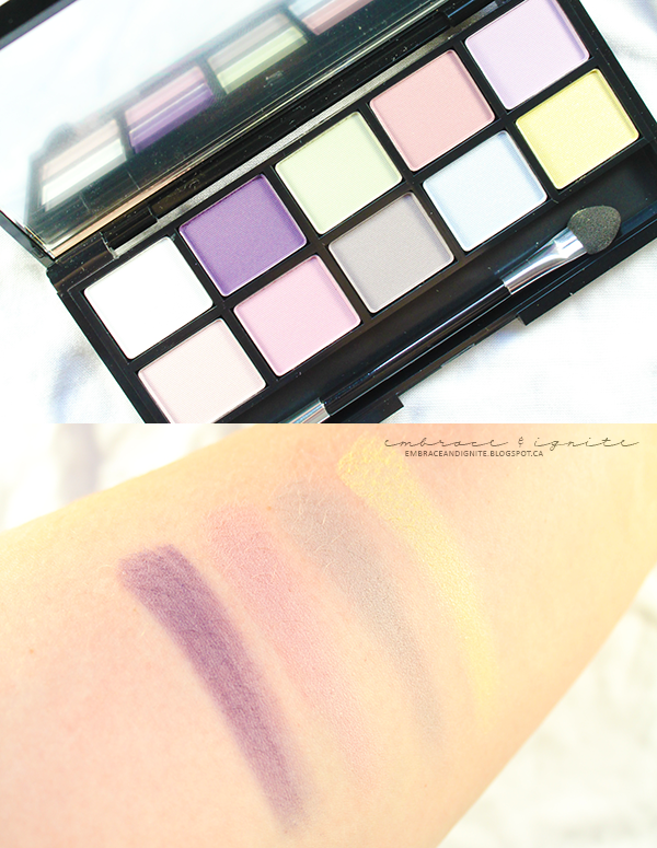 Quo Cosmetics Prismatic Eye Palette in Colorful Life