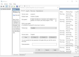 Mengatasi Windows Tidak Bisa Melakukan Update