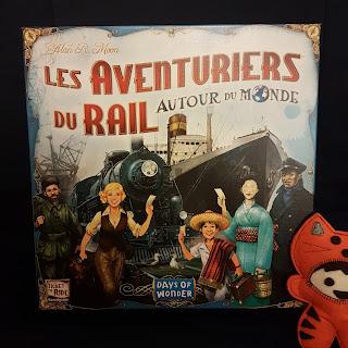 Les Aventuriers du Rail Autour du monde recto