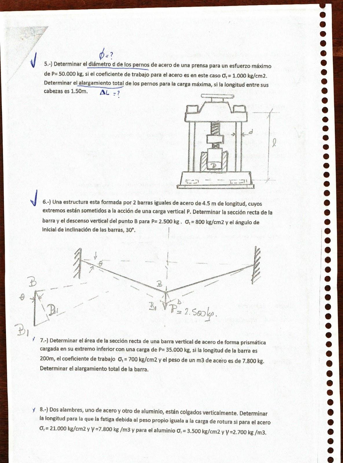 Cursos 15: Ejercicios Resueltos de Mecánica 1