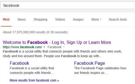 Google Go to Facebook