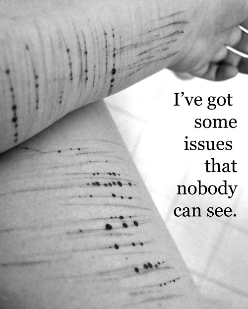 Depression Cutting Quotes: 1000+ Images About Stop It All On Pinterest