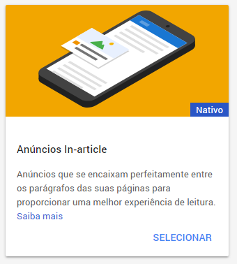 Anúncios In-article