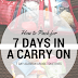 Alaskan Cruise In a Carry On - Toiletries and 1 Quart Bag