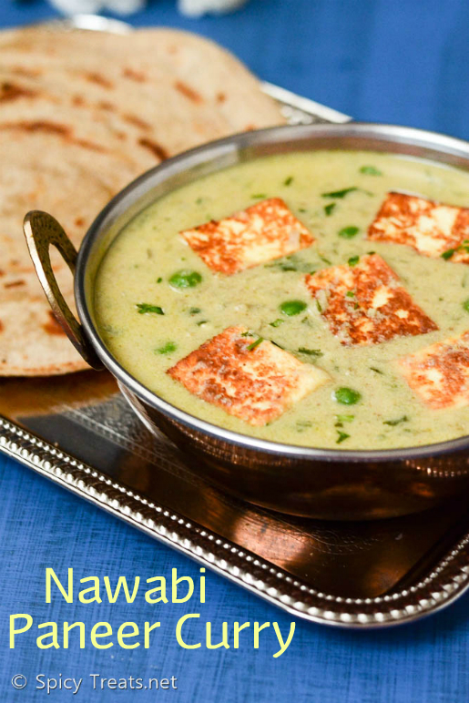 Nawabi Paneer Curry