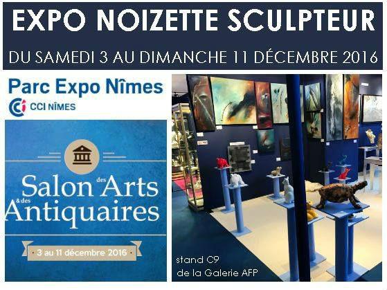 Exposition de Noizette au salon des Arts et des Antiquaires