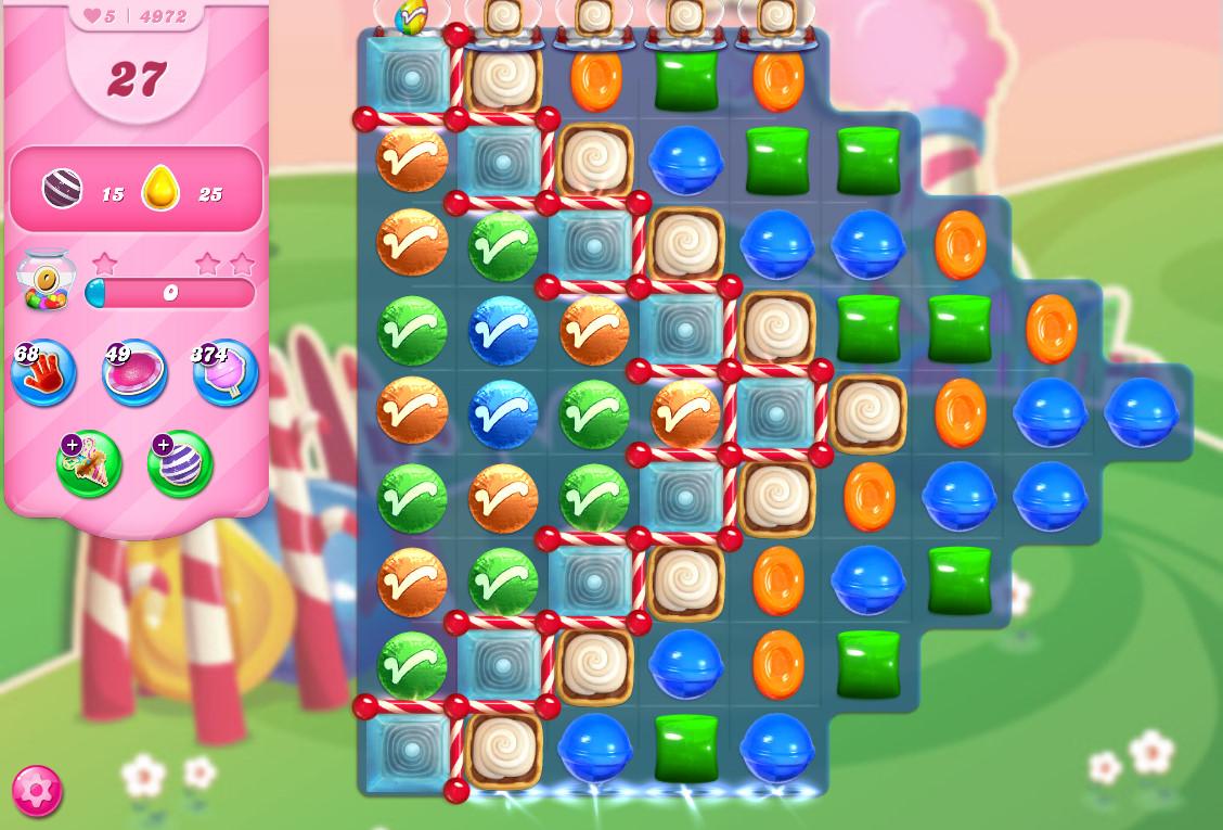 Candy Crush Saga level 4972
