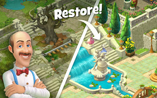 Gardenscapes New Acres MOD APK 3.2.1 (Unlimited Coins/Free Task Complete)