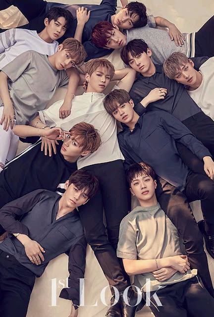WANNA ONE 1st LOOK Pics