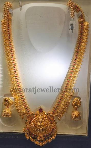 Traditional Bridal Kasu Mala Jewellery Designs