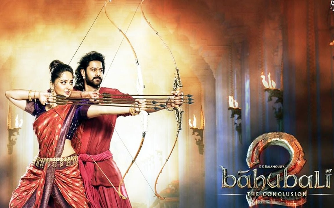 Wallpaper download bahubali 2 - Bahubali 2 Prabhas Anushka Poster Baahubali 2 Wallpaper