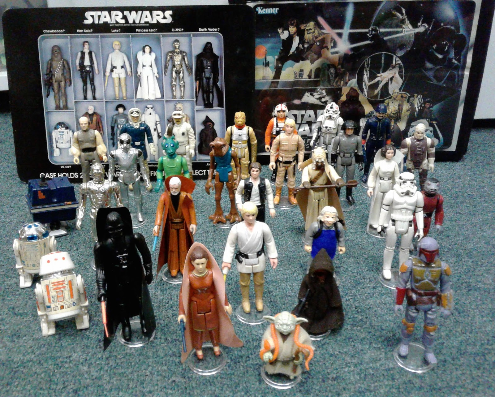 Catapult Collectibles: Vintage Star Wars Action Figures!