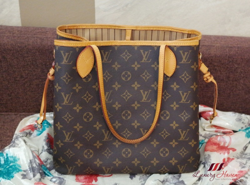 louis vuitton monogram canvas neverfull review