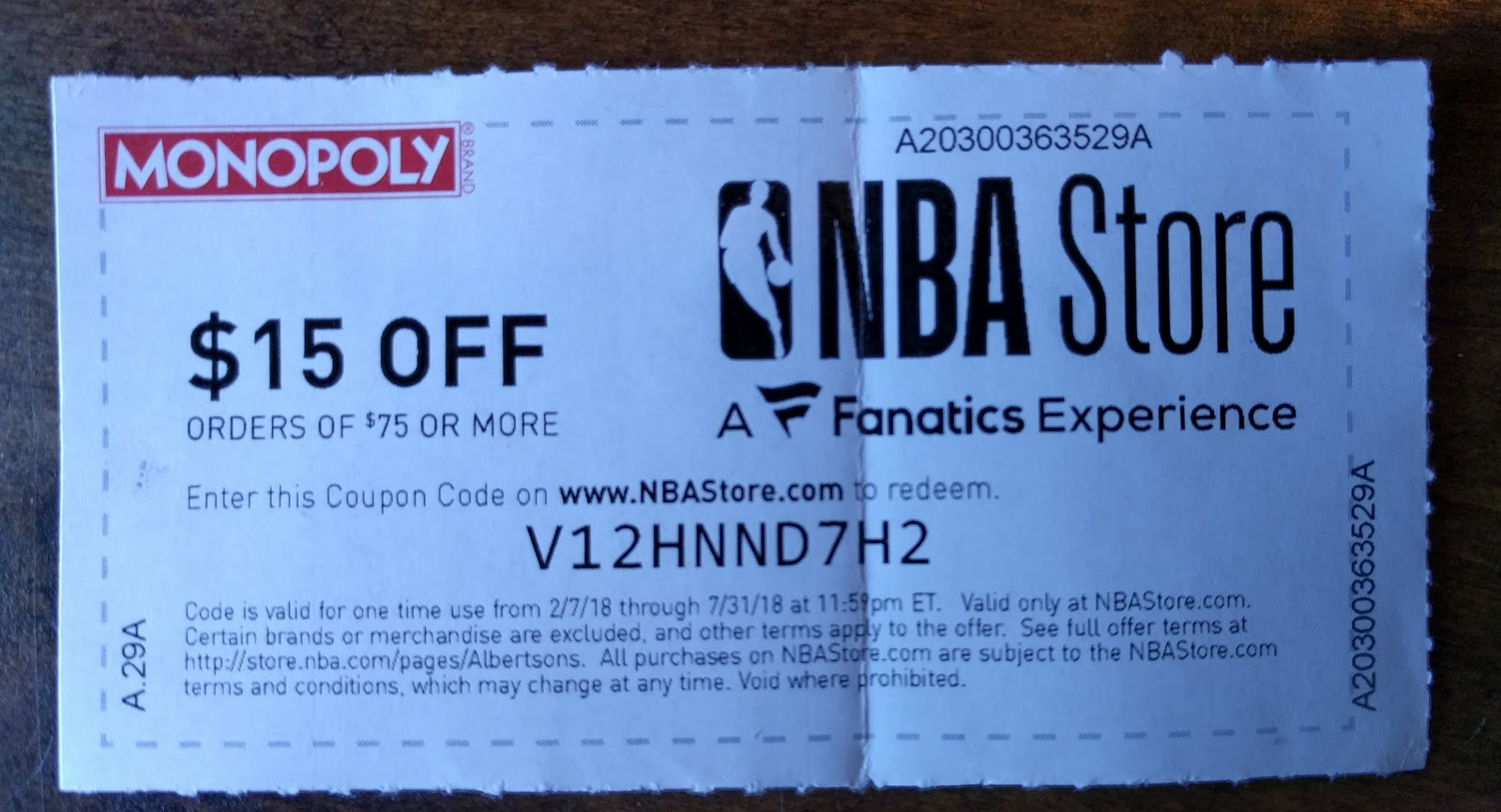 Writing anything nba store discount minimum purchase coupon code fandeluxe Images