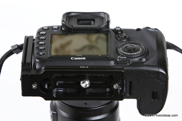 Canon EOS 7D with own L bracket