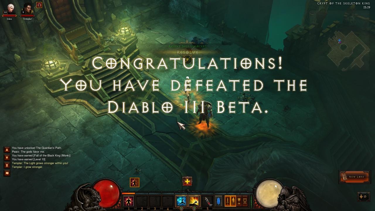 Diablo 3 Closed Beta Impressions