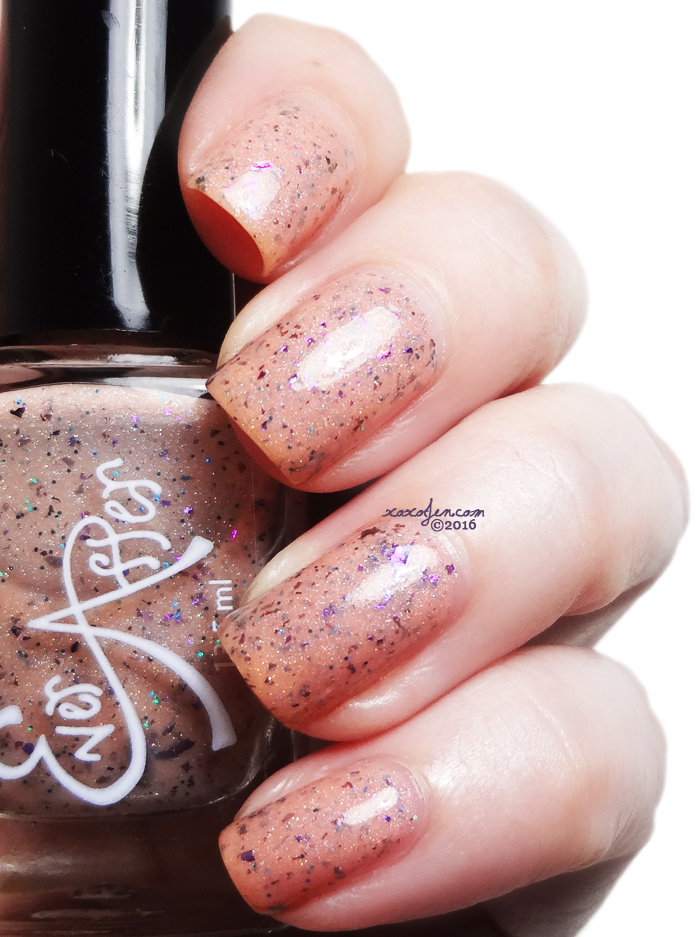 xoxoJen's swatch of Ever After Bread & Butterflies