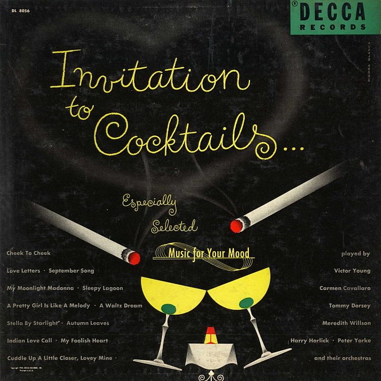 Vinyl revival various invitation to cocktails 1953 various invitation to cocktails 1953 stopboris Choice Image