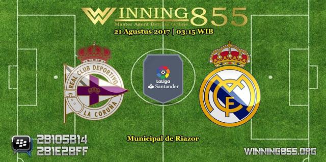Prediksi Skor Deportivo vs Real Madrid