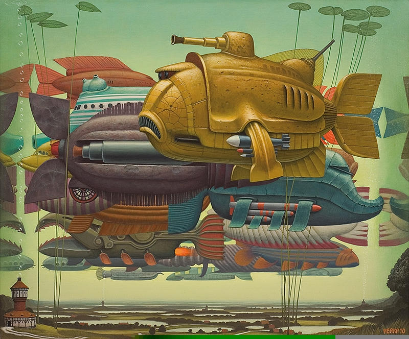 05-We-Fish-Jacek-Yerka-Surrealism-in-Dreamlike-Oil-Paintings-www-designstack-co