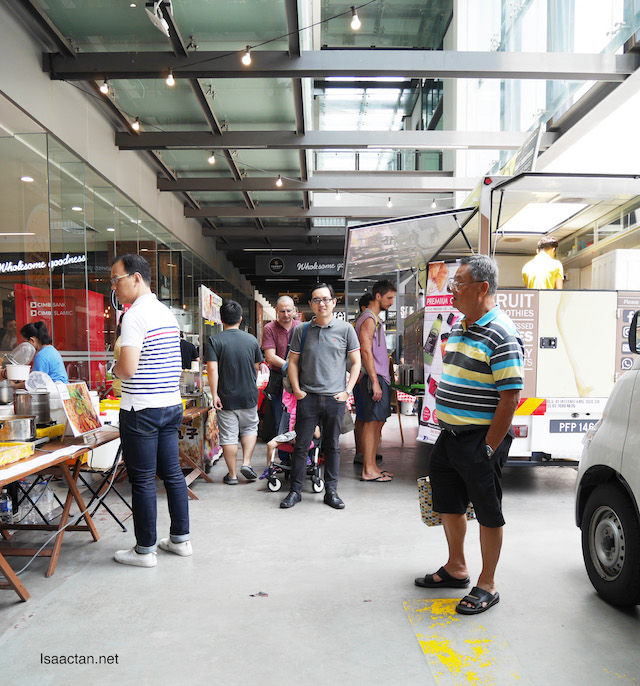 Food Trucks, Coffee, Bazaar & More @ #Markets22 BARISTA, Jaya One