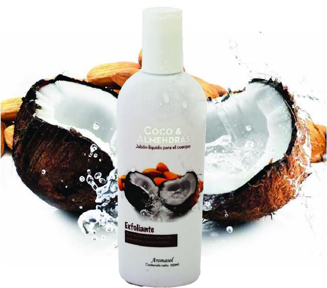 Jabón líquido exfoliante Aromasol