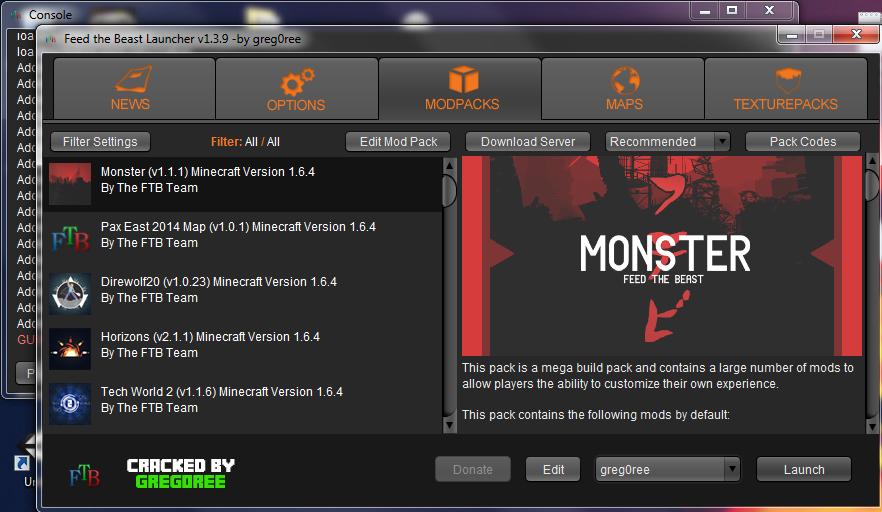 Update Cracked FTB ( Feed The Beast ) Launcher 1.4.8 ...