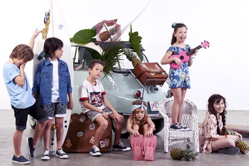 Looks de moda infantil verano 2018. Moda infantil 2018.