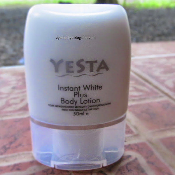 Review: YESTA Instan White Plus Body Lotion