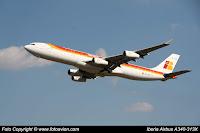 Airbus A340 / EC-GLE