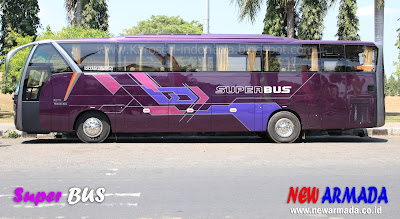 FOTO-FOTO SUPERBUS NEW ARMADA