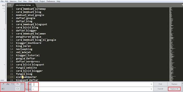 Cara Membuat Sitemap Website Menggunakan PHP