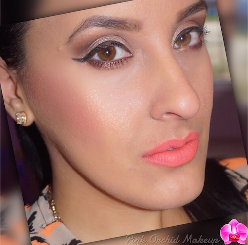 MOTD-Soft-Neutral-&-Bright-Coral-Lips-Pink-Orchid-Makeup