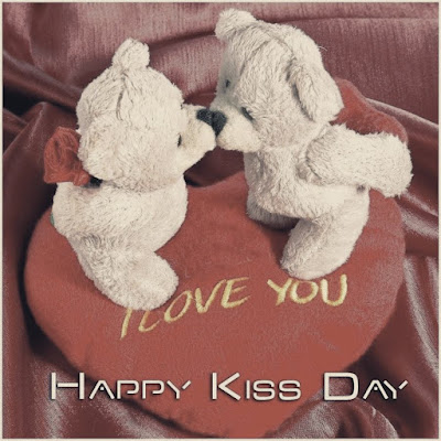 happy kiss day scraps